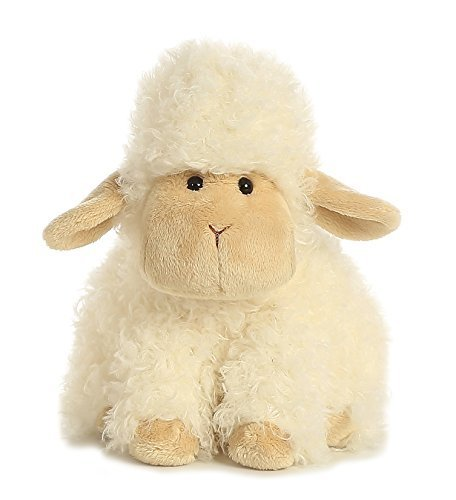 Aurora World Lokkie Lambie Plush, Small