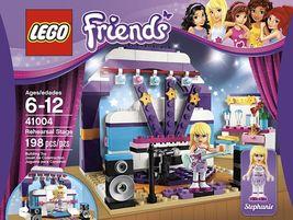 LEGO Friends 41004 Rehearsal Stage Set Stephanie Pop Star [New] Building... - $37.77