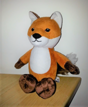"Plush 10"" Kinder Maxi Surprise Red Fox Stuffed Soft Toy Kinderegg Ferrero  - $11.29"