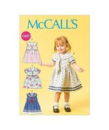 McCalls Sewing Pattern 6913 Toddlers' Dresses & Tie Ends Sizes: All Sizes - $14.21