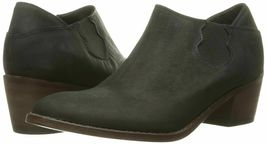 NEW 1883 by Wolverine Womens Alice Black Leather Slip-On Ankle Booties Boots NIB image 6