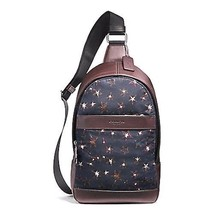 NEW MENS COACH (F25269) CHARLES NYLON PACK NAVY BAG BACKPACK  - $132.00