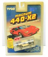 Vintage 1991 Tyco Magnum 440-X2 Racing Car #8937 Slot #20 Miller Indy NO... - $116.86