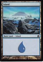 Magic The Gathering Island Card #305/318 - $0.99