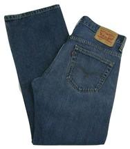Levi's 569 Loose Fit Straight Leg Red Tab Jeans Men's W30 X L30 100% Cotton - $27.67