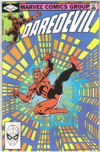Daredevil Comic Book #186 Marvel Comics 1982 VERY FINE+ NEW UNREAD