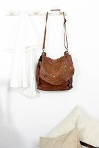 JOANNE handmade leather bag with studs image 7