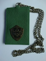 Nintendo The Legend Of Zelda Video Game Metal Badge ID Holder Chain Lanyard - $12.00
