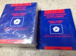 1993 Chrysler Plymouth Dodge Front Wheel Drive FWD Service Repair Shop Manual - $49.45
