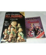 2 Older M I Hummel Price Guide Books 1986 House Collectibles 1992 Robert... - $12.99