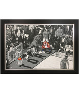 Kawhi Leonard Framed Canvas - Toronto Raptors Game Winning Shot - $400.00