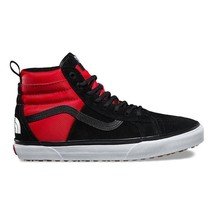 Vans x The North Face SK8-Hi 46 MTE DX TNF Black Red Suede Mens Size 7.5 - $149.95