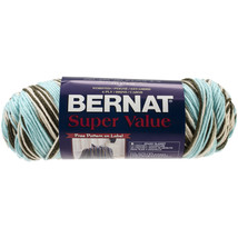 Bernat Super Value Ombre Yarn-Sea Taupe - $7.90