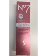 (New) BOOTS No7 Restore & Renew Face & Neck Multi Action Serum - 1 oz. - $22.96