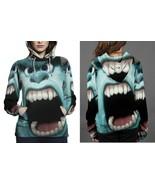 Monster Inc 1 Hoodie Fullprint Women - $43.99+