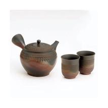 Tokoname kyusu Japanese teapot - GYOKO (350cc/ml) 1pot & 2yunomi  Cerami... - $202.50