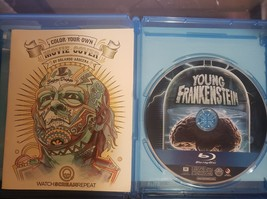Young Frankenstein [Blu-ray] + Color your own cover booklet image 2