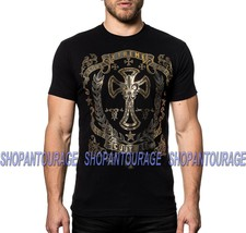 Xtreme Couture Gilded Cross X1754 Short Sleeve MMA Graphic T-shirt By Af... - $23.95