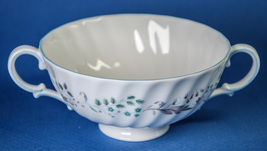 Royal Doulton Glen Auldyn Footed Cream Soup Bowl Cup H4959 Montrose - $5.00