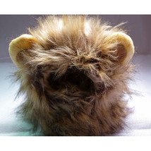 Cute Pet Costume Cosplay Lion Mane Wig Cap Hat for Cat Fancy Dress with ... - $9.49