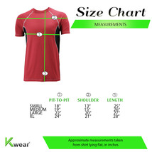 Men's Cool Quick-Dry Gym Workout Sport Running Breathable Performance T-shirt image 2