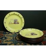 8 Vintage Monterrey Western Ware Enamel Western Chuck Wagon Plates 10' M... - $170.53