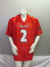 Simon Fraser Football Jersey - Home Red # 2 Nathaneal Durkan - Men's Large - $75.00