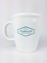2006 Starbucks Est. 1971 Abbey 13 Oz Coffee Cup Mug White / Blue - $18.47 CAD