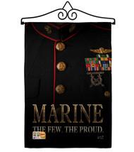 Dress Blue Marine Burlap - Impressions Decorative Metal Wall Hanger Gard... - $36.97