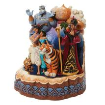 """Jim Shore Carved by Heart Aladdin by Disney Traditions 7.67"""" High image 3"""