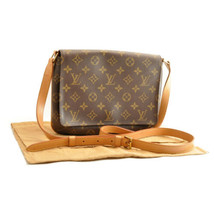 LOUIS VUITTON Monogram Musette Tango Long Shoulder Bag M51388 Auth sa2015 - $720.00