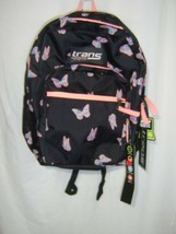 TRANS KIDS BACKPACK BY JANSPORT SUPERMAX BUTTERFLY BALLET NWT :B19-5 - $27.75