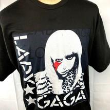 Lady Gaga Evolution Glam Lightning XXL T-Shirt 2XL Mens 2011 Ate My Hear... - $24.04