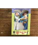 Toy Story 2 Book Pals Set Buzz Lightyear & Sheriff Woody RARE New Unopened - $30.58