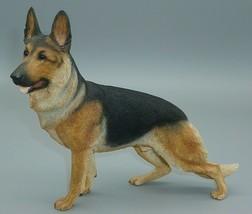 German Shepherd Dog Puppy Country Artists Figure Statue Polystone? Sandi... - $36.58