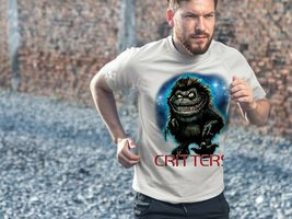 Critters Dri Fit graphic T-shirt moisture wicking retro 80s movie SPF tee image 3