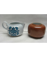 VILLEROY & BOCH China - CHEKIANG Pattern - CREAMER & SUGAR BOWL - $19.95