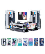 for iPhone X 10 PU Leather Wallet Card Slots Protective Flip Stand Case ... - $7.25
