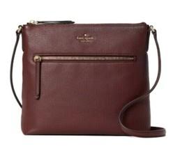 New Kate Spade New York Jackson Top zip crossbody handbag Leather Cherry... - $117.81