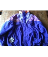 Aesse Made In Italy $$$ AESSE Pro ITALY Ski down jacket Blue Purple XL - $28.40