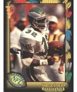 1991 Wild Card #45 James Joseph NM-MT RC Rookie Eagles - $1.11