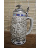 AVON COLLECTIBLE STEIN BEER MUG U.S. ARMED FORCES TRIBUTE #120668 - $9.79