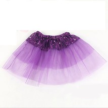 Girls size 2-6 years purple sequin tutu skirt dance ballet party outfit ... - $5.99