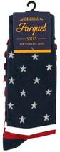 American Flag Mens Novelty Crew Socks Casual Cotton Blend Patriotic Sock... - $12.95