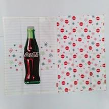 Coca-Cola Snowflakes & Bottle Dishtowels (2 Pack) - BRAND NEW - $18.76