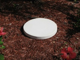 "1- 18x2"" ROUND, PLAIN, FLAT CONCRETE STEPPING STONE MOLD, MOULD #SS-1818-RP image 2"
