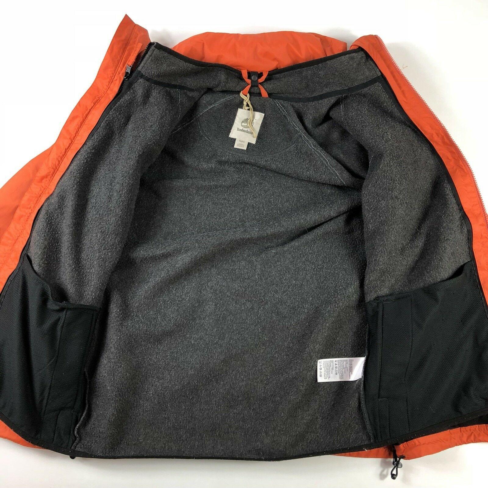 TIMBERLAND 3-n-1 Men's M Field Coat/Jacket Hood Waterproof Fleece Liner Jacket