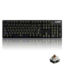 Ajazz AK50 Mechanical Keyboard with Brown Switches, 104 Standard (Brown ... - $71.92
