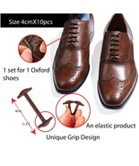 Koollaces No Tie Elastic Slip on Dress Shoelaces, Silicone Shoelaces Pat... - $13.48
