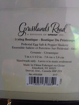 Pedestal Dash of Pepper Pinch of Salt Shakers Spring Boutique Grasslands Road Sa image 3
